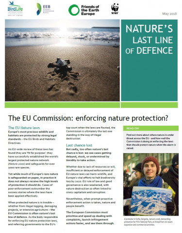 Nature's last line of defence report