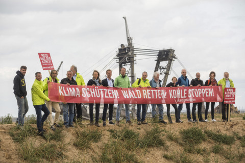 BUND protests to save Hambach forest 2018