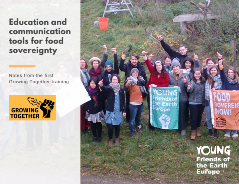 Booklet Education and communication tools for food sovereignty