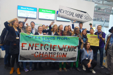 BUNDjugend dirty Germany's clean image at COP23