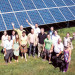 Ecopower generating solar energy
