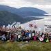 Protest at the Førde fjord (c) Luka Tomac